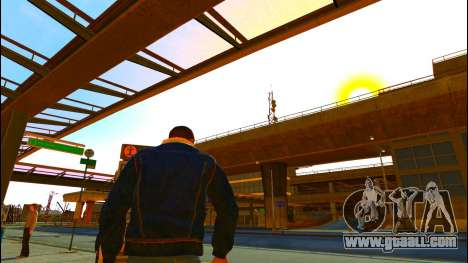 Jeans jacket Trevor of GTA V for GTA 4 third screenshot
