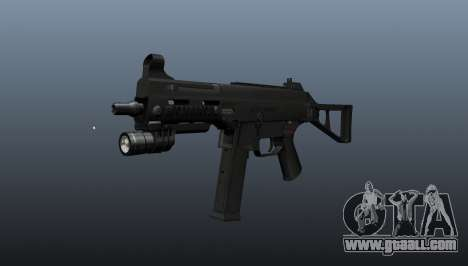 UMP45 submachine gun v2 for GTA 4