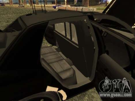Ford Crown Victoria Police Interceptor for GTA San Andreas side view