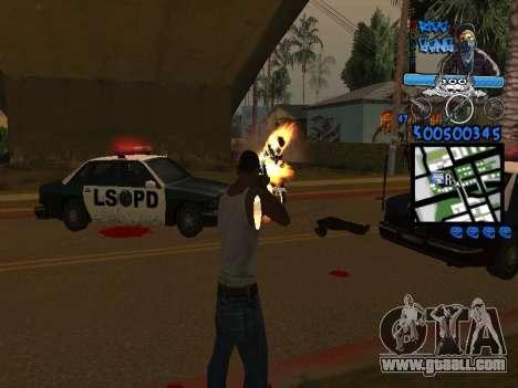 C-HUD for GTA San Andreas third screenshot