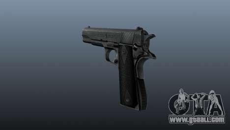 Pistol M1911 v3 for GTA 4 second screenshot