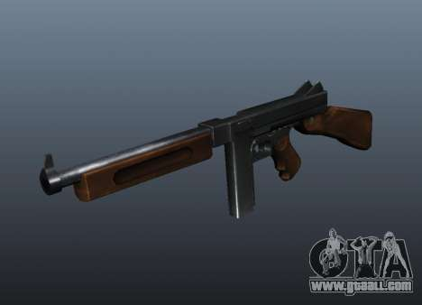 M1a1 Thompson submachine gun v1 for GTA 4