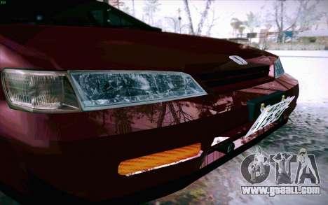 Honda Accord Wagon for GTA San Andreas upper view