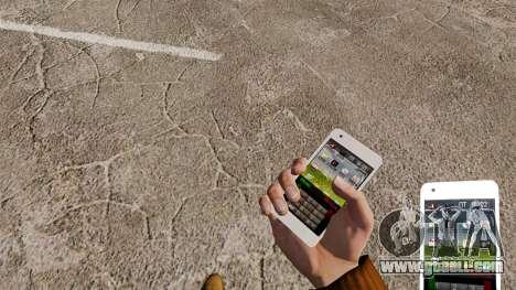 Keyboard Samsung Galaxy S2 for GTA 4 third screenshot