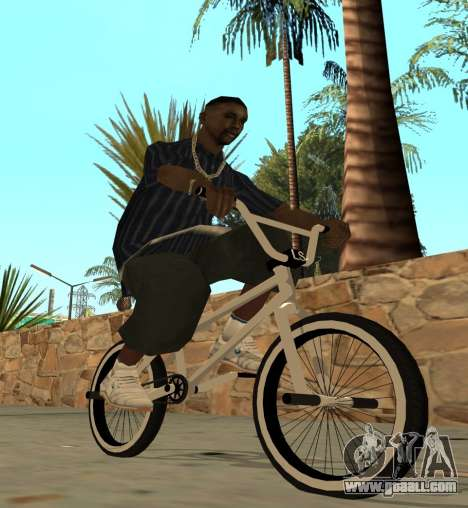 BMX for GTA San Andreas left view