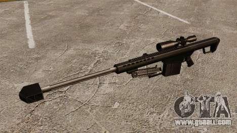 The Barrett M82 sniper rifle v2 for GTA 4 third screenshot
