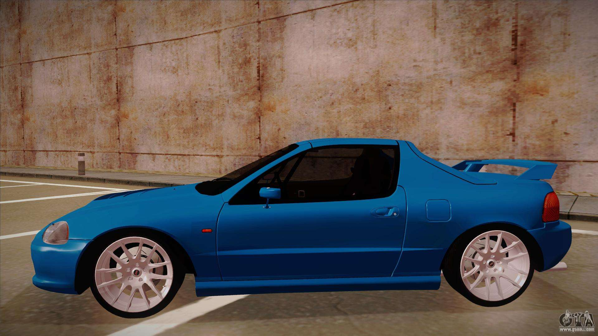 honda crx del sol for gta san andreas. Black Bedroom Furniture Sets. Home Design Ideas