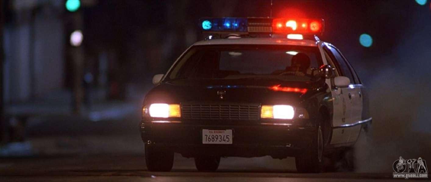 Siren police car from GTA III for GTA San Andreas