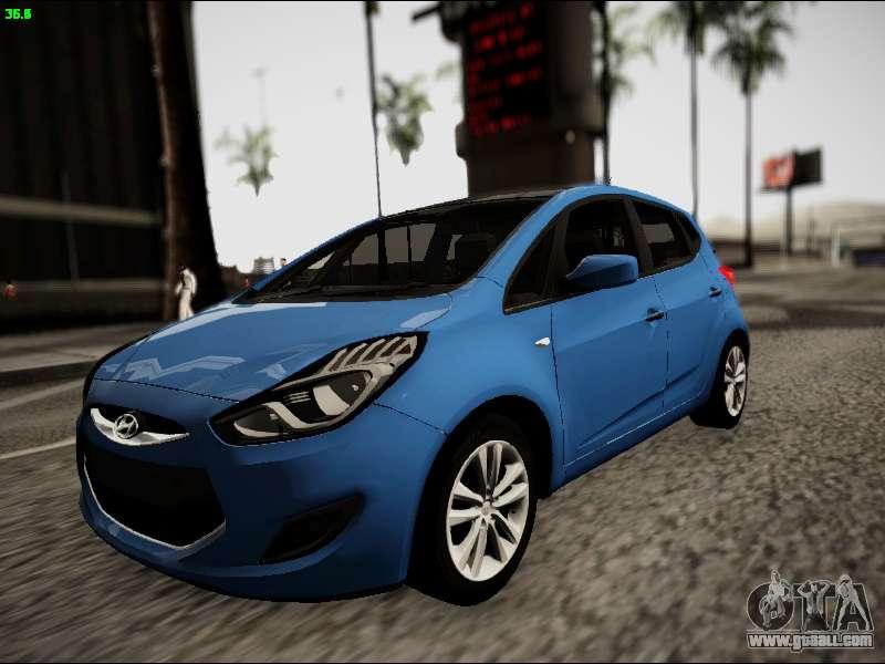Hyundai Ix20 For Gta San Andreas