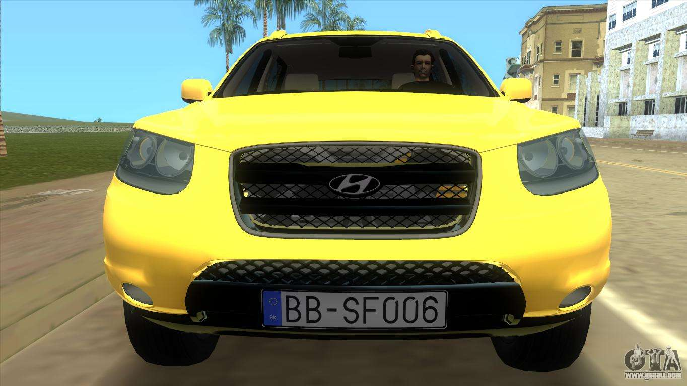 hyundai santa fe 2006 for gta vice city. Black Bedroom Furniture Sets. Home Design Ideas