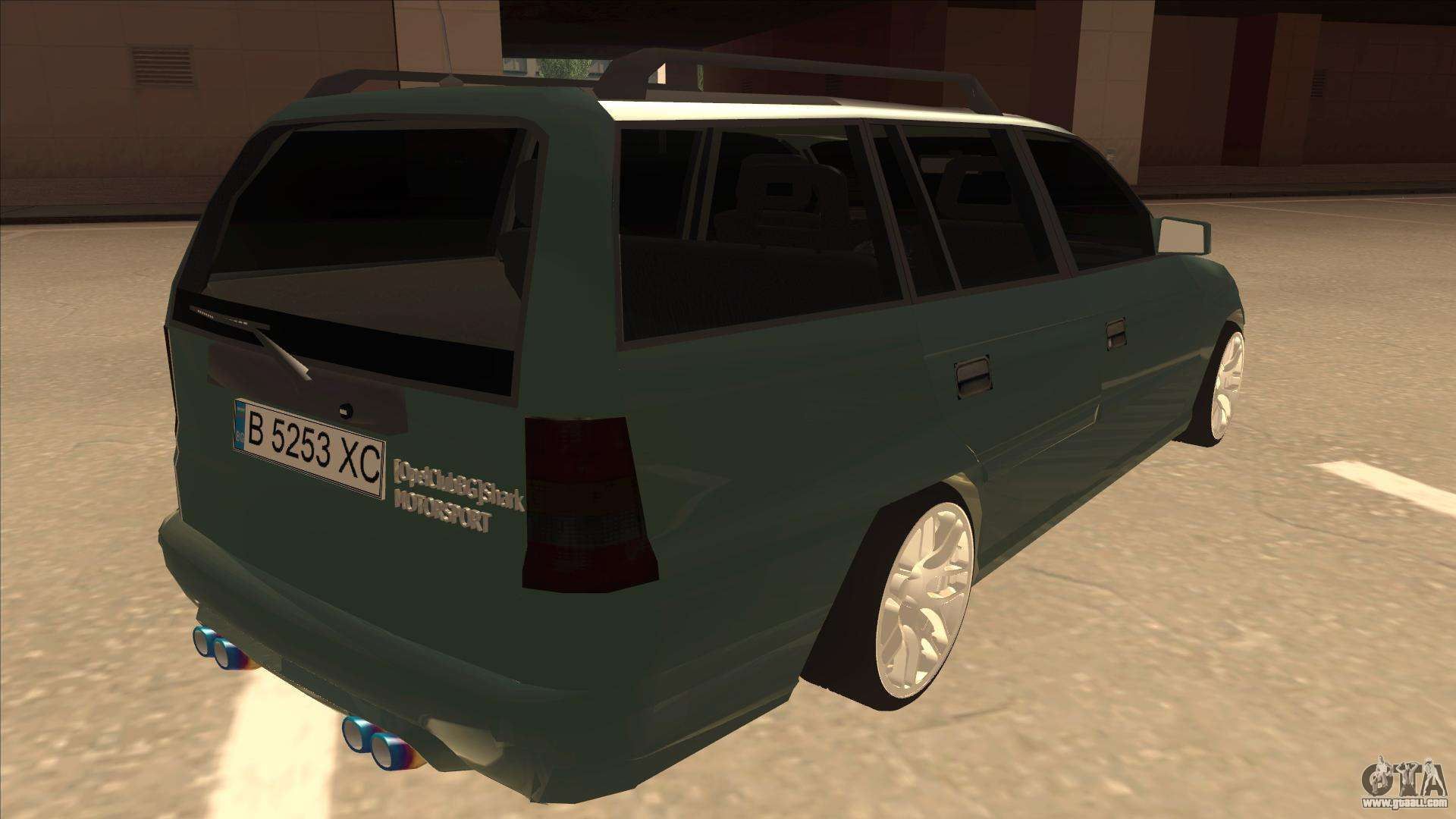 opel astra f caravan sport for gta san andreas. Black Bedroom Furniture Sets. Home Design Ideas