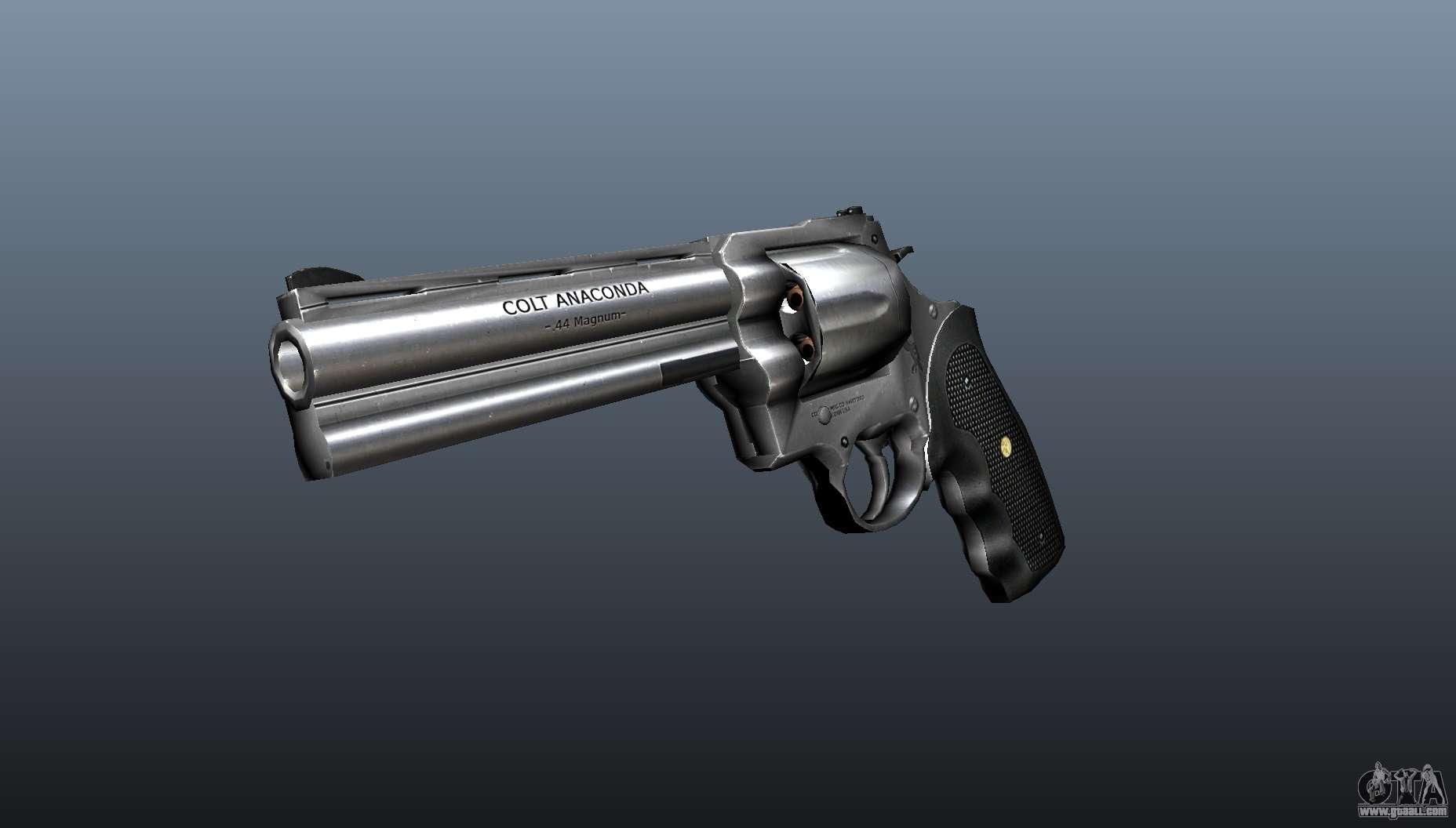Revolver Colt Anaconda v2 for GTA 4