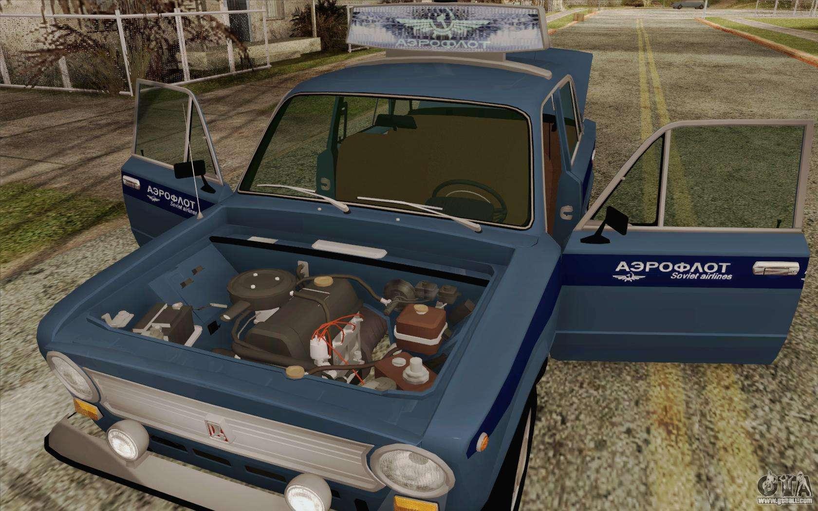 VAZ 21011 Aeroflot for GTA San Andreas