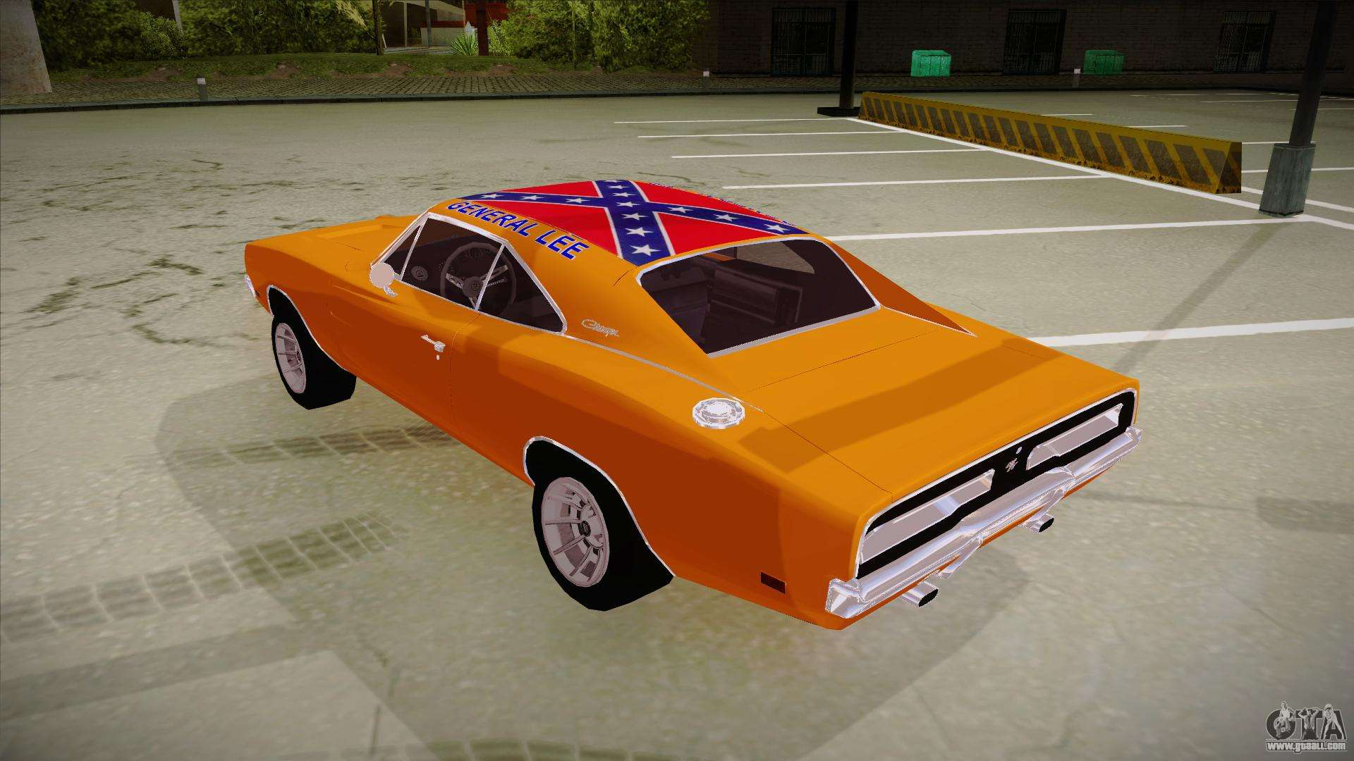 Dodge Charger 1969 General Lee For Gta San Andreas