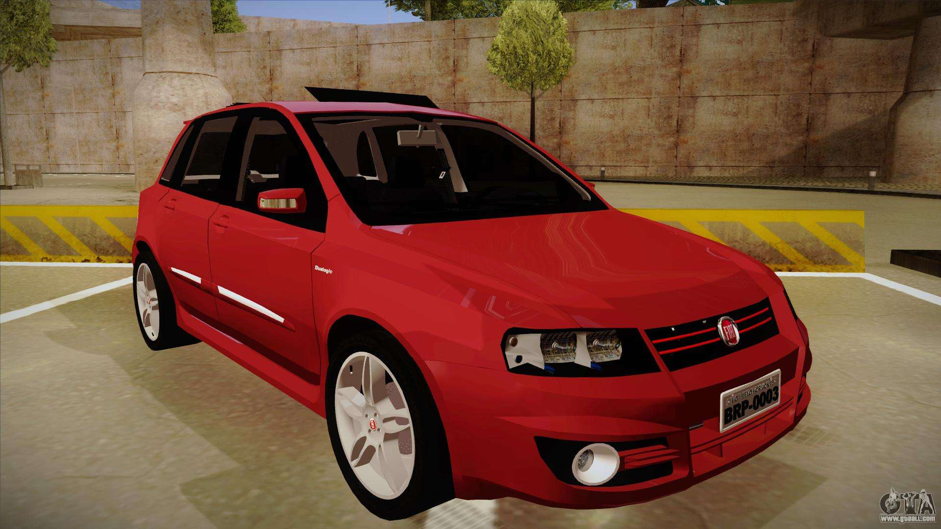 fiat stilo sporting 2009 for gta san andreas. Black Bedroom Furniture Sets. Home Design Ideas