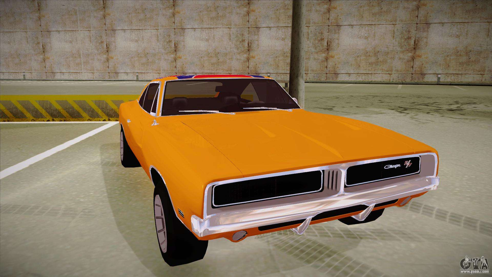 Fast Awd Cars >> Dodge Charger 1969 (general lee) for GTA San Andreas