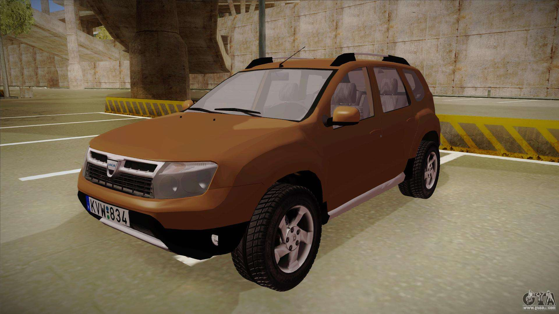 dacia duster elite for gta san andreas. Black Bedroom Furniture Sets. Home Design Ideas
