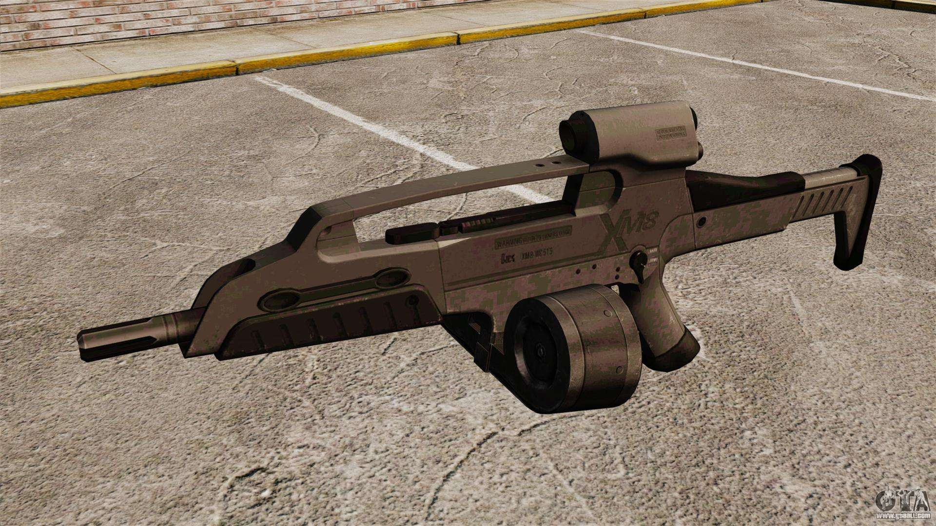 Automatic hk xm8 v3 for gta 4 for Portent g3 sw 12