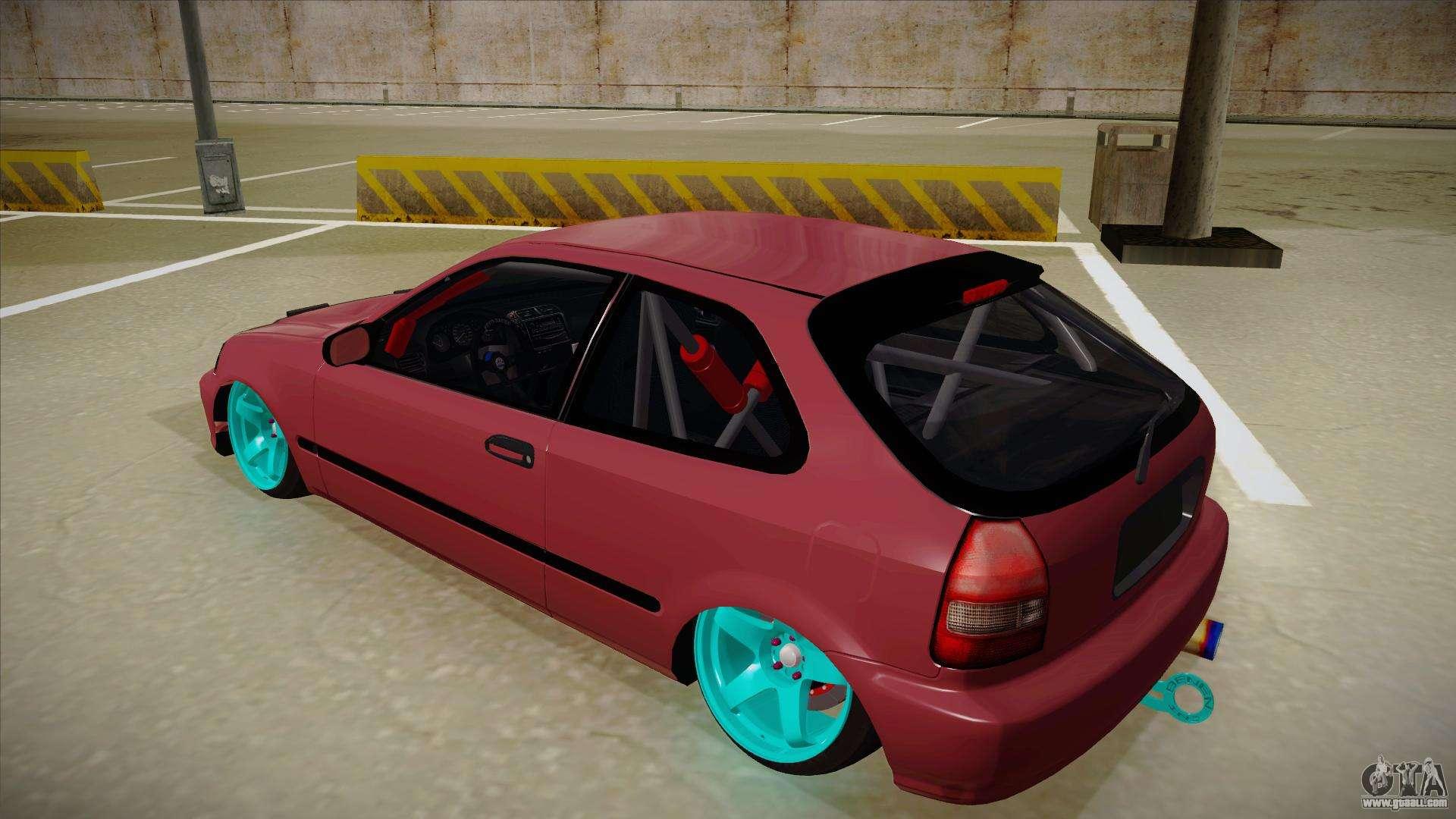 Honda Civic EK9 Drift Edition for GTA San Andreas