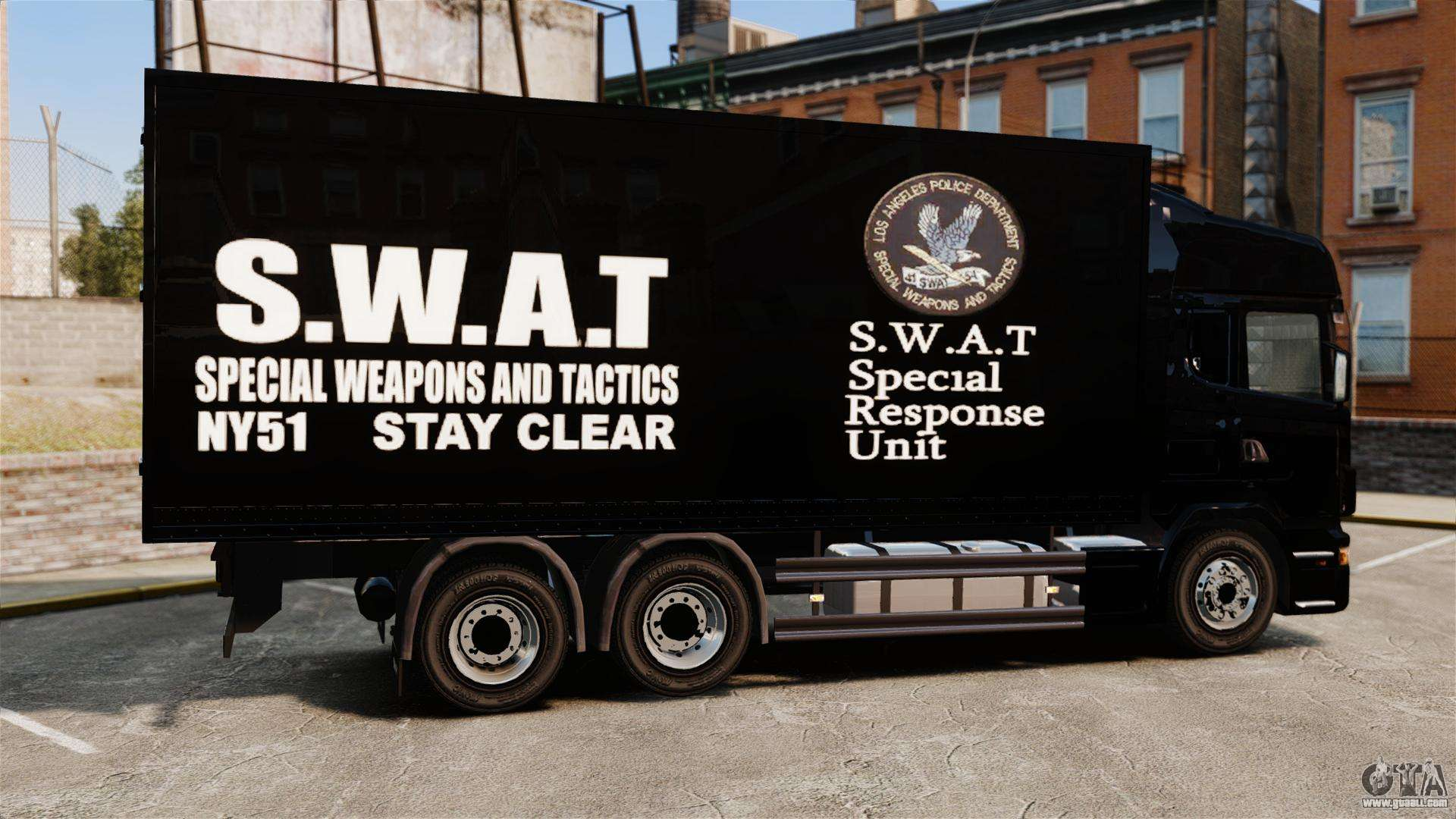 new truck swat for gta 4