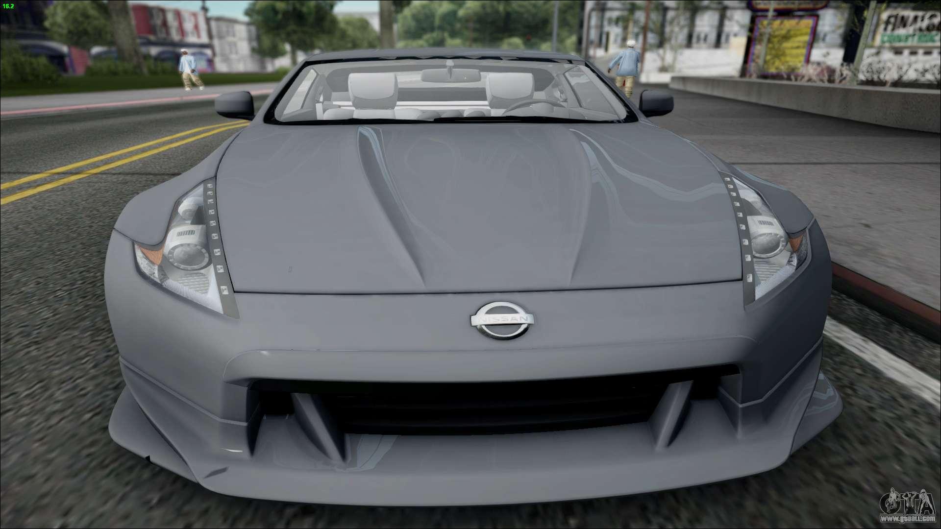Gta 5 Nissan 350z Nissan 350z For Gta San
