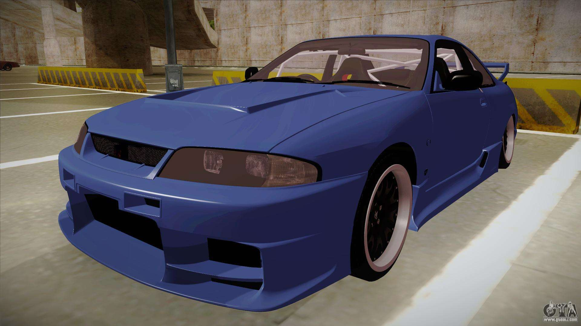 nissan skyline r33 jdm for gta san andreas. Black Bedroom Furniture Sets. Home Design Ideas