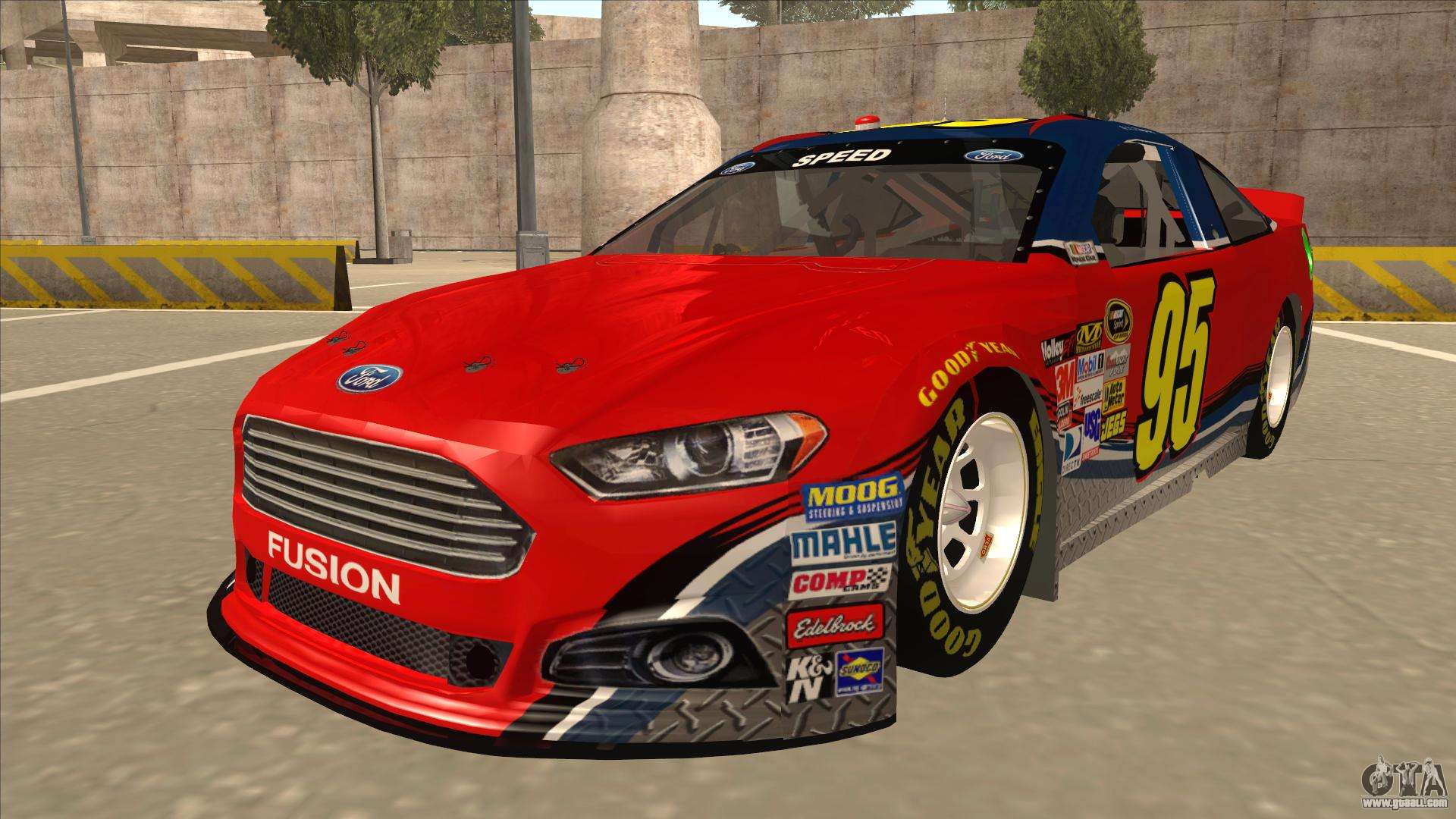 Ford Fusion Mods >> Ford Fusion NASCAR No. 95 for GTA San Andreas