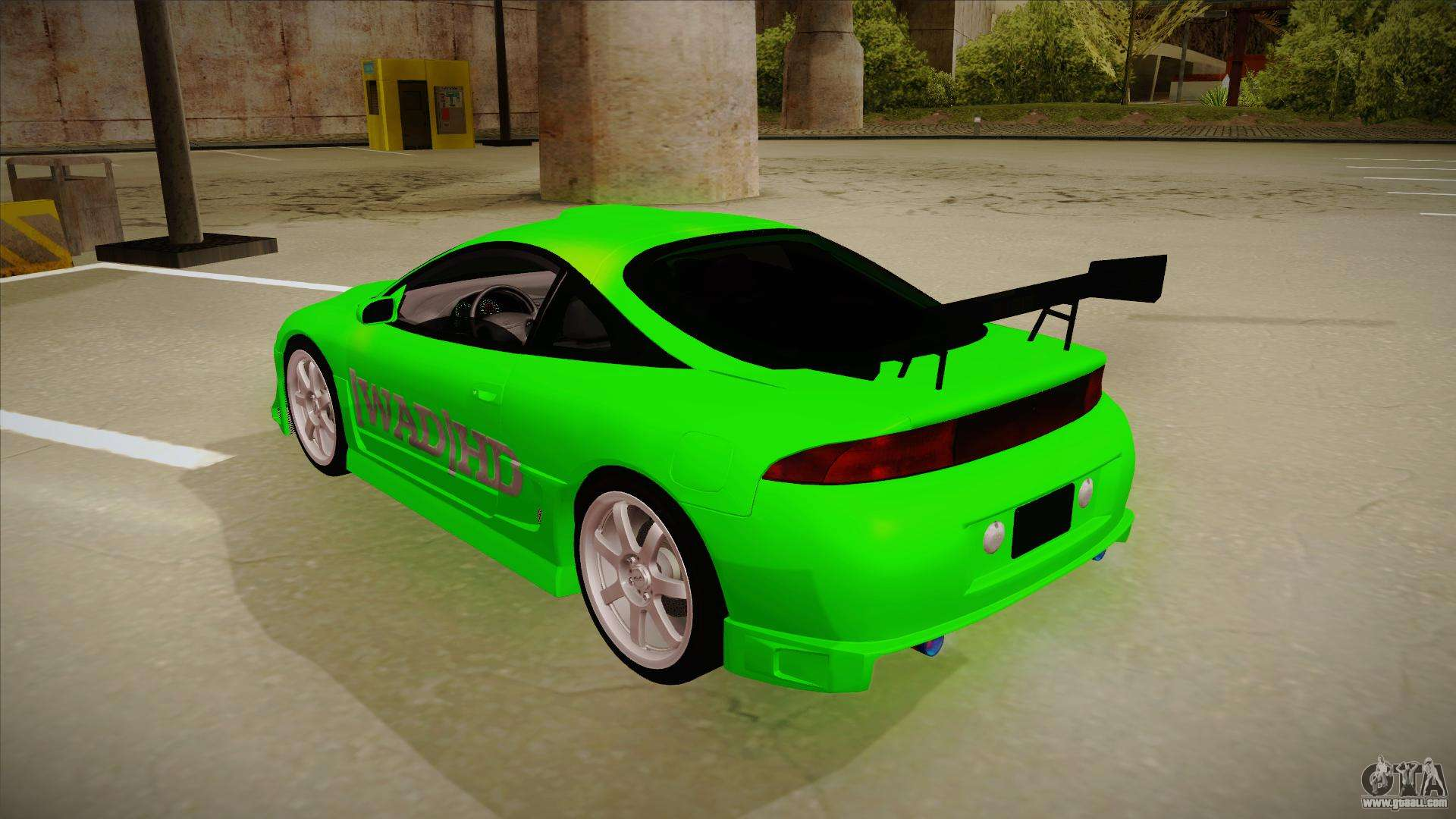 mitsubishi eclipse gsx 1996 wad hd for gta san andreas. Black Bedroom Furniture Sets. Home Design Ideas