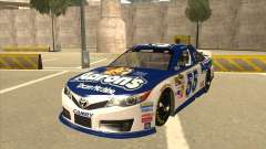Toyota Camry NASCAR No. 55 Aarons DM white-blue for GTA San Andreas