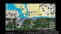 GTA V atlas map
