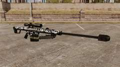 The Barrett M82 sniper rifle v16 for GTA 4