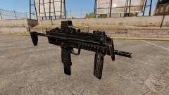 HK MP7 submachine gun v1 for GTA 4