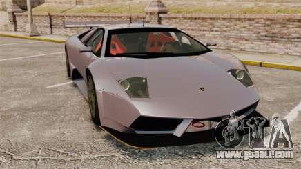Lamborghini Murcielago RSV FIA GT1 v2.0 for GTA 4