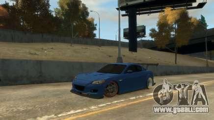 Mazda RX-8 R3 for GTA 4