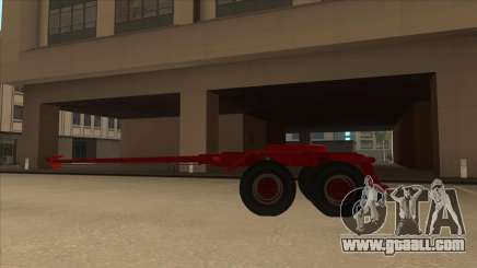 The middle part of the trailer-timber to Hayes H188. for GTA San Andreas