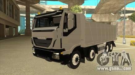 Hi-Land Dump Truck Iveco for GTA San Andreas