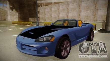 Dodge Viper v1 for GTA San Andreas