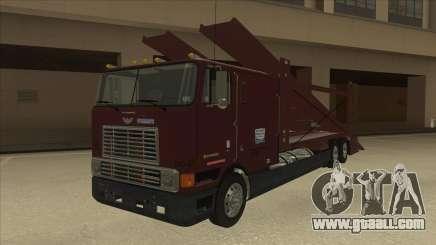 International 9700 Car Hauler for GTA San Andreas