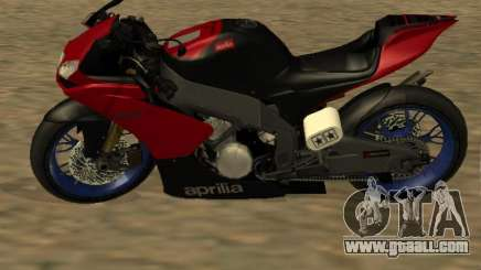 Aprilia RS50 for GTA San Andreas