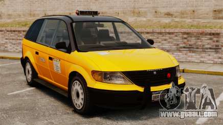 Improved taxi for GTA 4