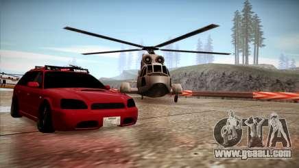Subaru Legacy Wagon Hellaflush for GTA San Andreas