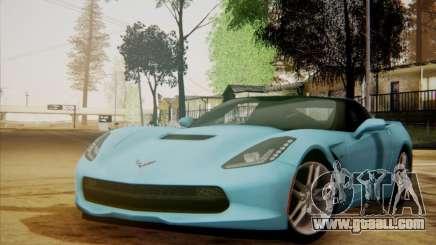 Chevrolet Corvette C7 Stingray 2014 for GTA San Andreas