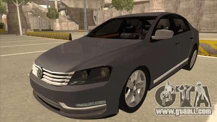 Volkswagen Passat 2.0 Turbo for GTA San Andreas