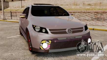 Volkswagen Gol Rally 2012 Socado Turbo for GTA 4