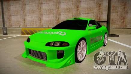 Mitsubishi Eclipse GSX 1996 [WAD]HD for GTA San Andreas