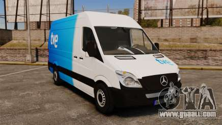 Mercedes-Benz Sprinter Spanish Television Van for GTA 4