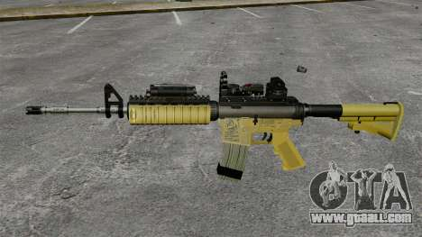 Automatic M4 Red Dop v2 for GTA 4 third screenshot