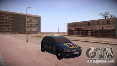 Opel Corsa C 2005 Sarajevo Taxi for GTA San Andreas back left view