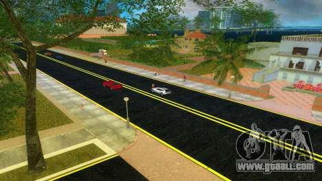 New roads Starfish Island for GTA Vice City