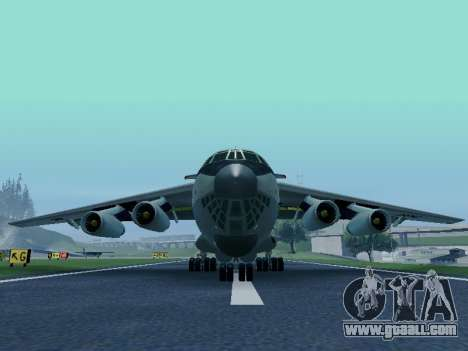 Il-76td v1.0 for GTA San Andreas left view